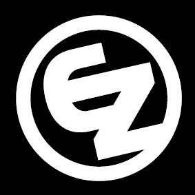 EZ Logo auf Black groß